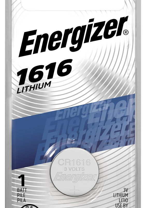 Photo of Energizer CR1616 Lithium Coin Cell, 1pk