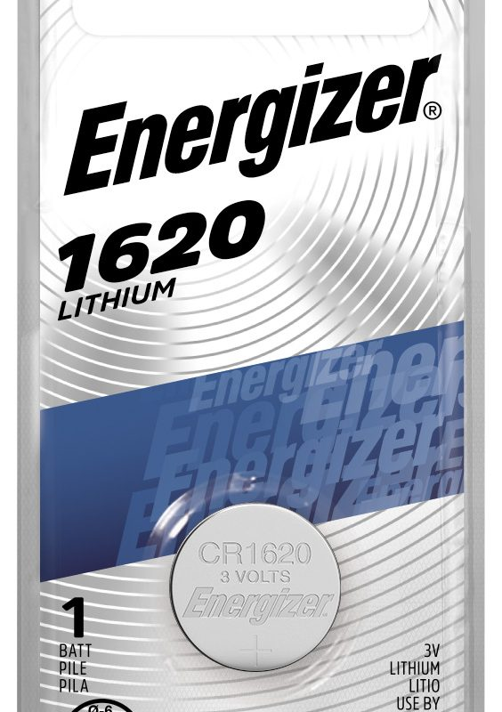 Photo of Energizer CR1620 Lithium Coin Cell, 1pk
