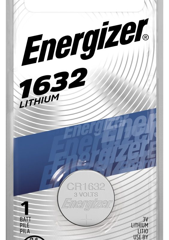 Photo of Energizer CR1632 Lithium Coin Cell, 1pk