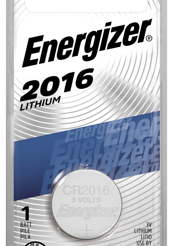 Photo of Energizer CR2016 Lithium Coin Cell, 1pk