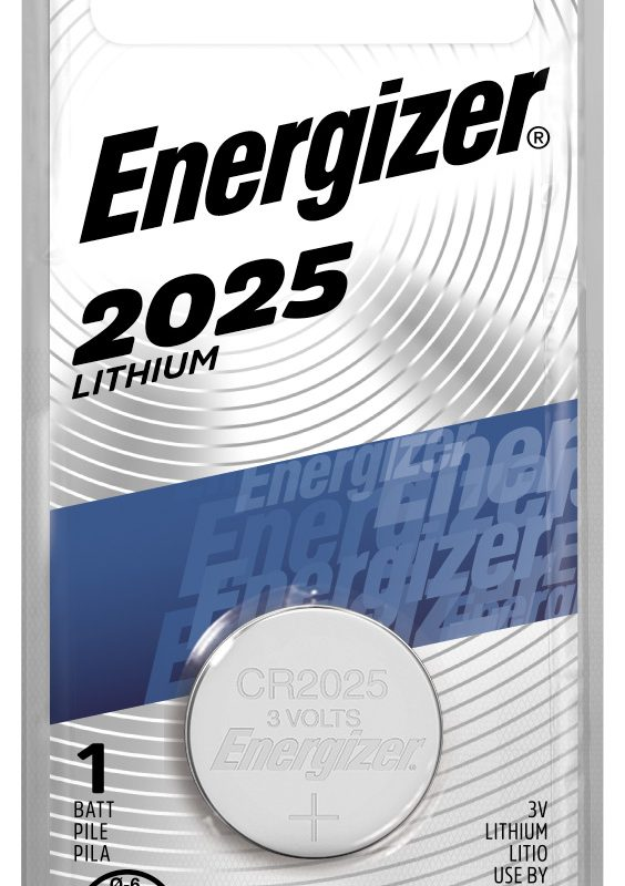 Photo of Energizer CR2025 Lithium Coin Cell, 1pk
