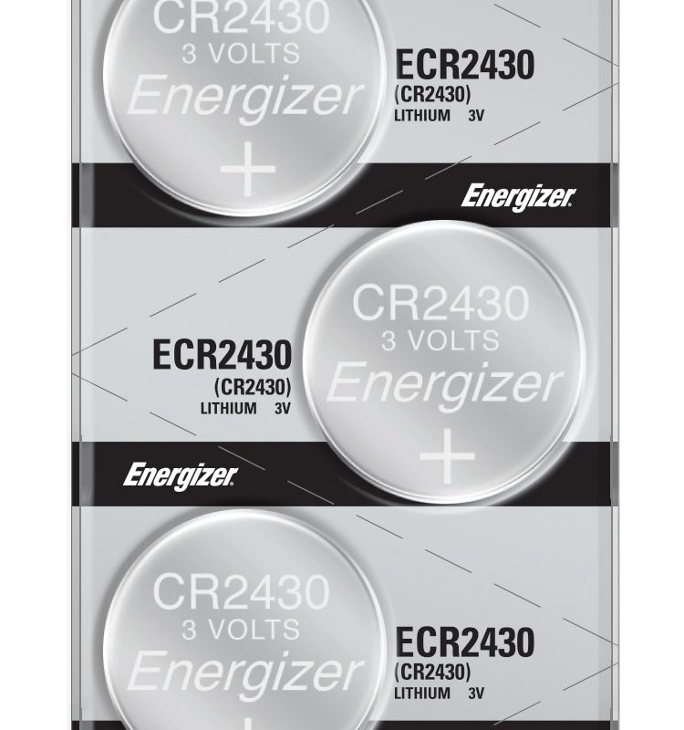 Photo of Energizer CR2430 Lithium Coin Cell, 5pc