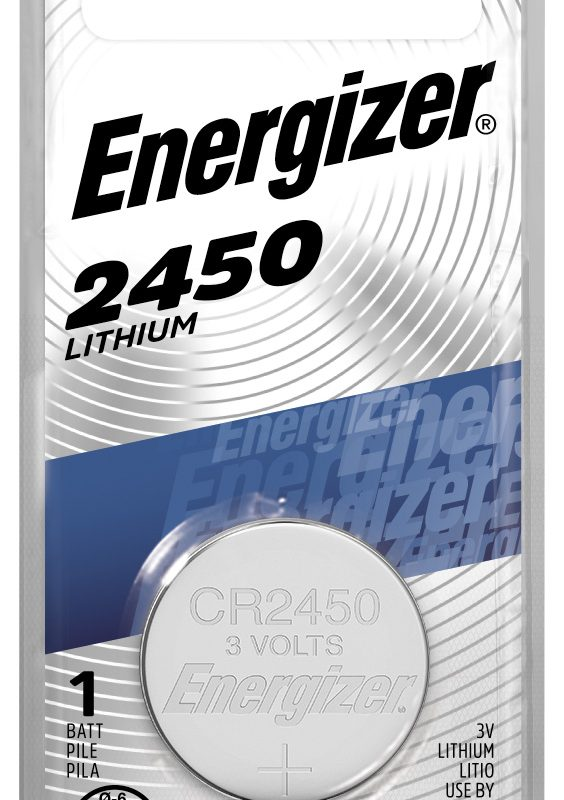 Photo of Energizer CR2450 Lithium Coin Cell, 1pk