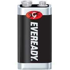 Photo of Eveready 9V Super Heavy Duty Battery, bulk