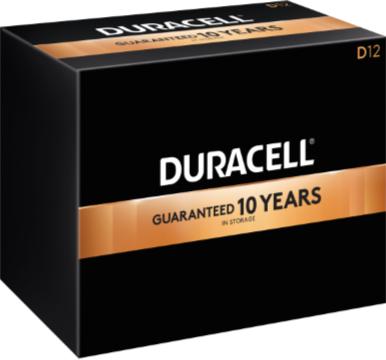 Photo of Duracell Coppertop D Alkaline Battery, bulk