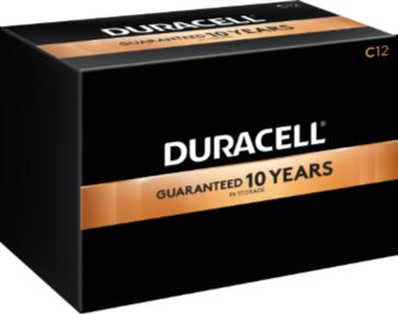 Photo of Duracell Coppertop C Alkaline Battery, bulk
