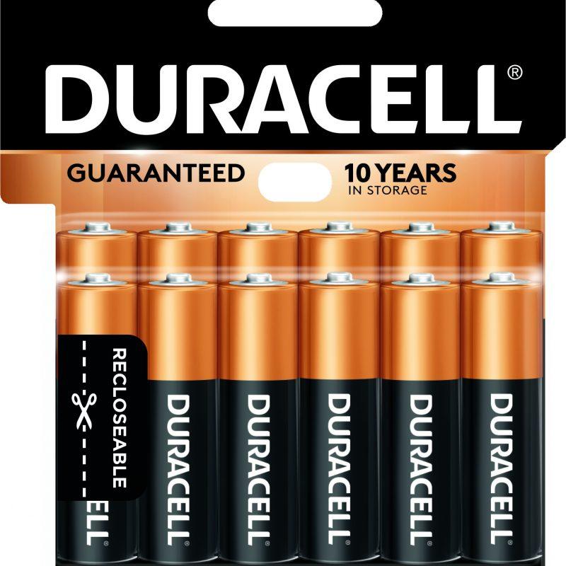 Photo of Duracell Coppertop AA Alkaline Battery, 12pk