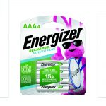Photo of Energizer Recharge AAA NiMh Rechargeable Battery, 4pk