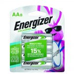 Photo of Energizer Recharge AA NiMh Rechargeable Battery, 8pk