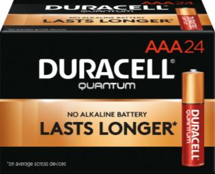 Photo of Duracell Quantum AAA Alkaline Battery, bulk