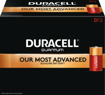Photo of Duracell Quantum D Alkaline Battery, bulk