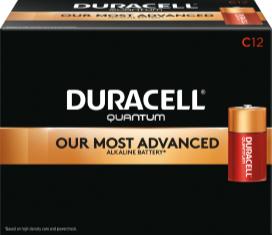 Photo of Duracell Quantum C Alkaline Battery, bulk