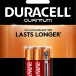 Photo of Duracell Quantum AAA Alkaline Battery, 6pk