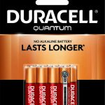 Photo of Duracell Quantum AAA Alkaline Battery, 8pk