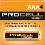Photo of Duracell Procell AAA Alkaline Battery, bulk