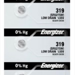 Photo of Energizer 319 Silver Oxide Button Cell, 5pc