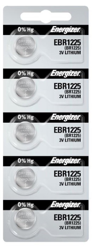 Photo of Energizer BR1225 Lithium Coin Cell, 5pc