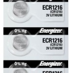 Photo of Energizer CR1216 Lithium Coin Cell, 5pc