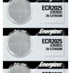 Photo of Energizer CR2025 Lithium Coin Cell, 5pc