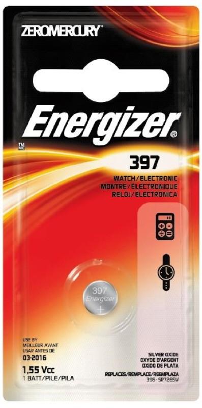 Photo of Energizer 397 Silver Oxide Button Cell, 1pk