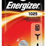 Photo of Energizer CR1025 Lithium Coin Cell, 1pk