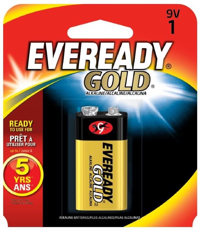 Photo of Eveready Gold 9V Alkaline Battery, 1pk