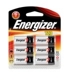 Photo of Energizer CR123 Lithium Battery, 6pk