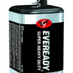 Photo of Eveready Super Heavy Duty Lantern Battery, spring terminal