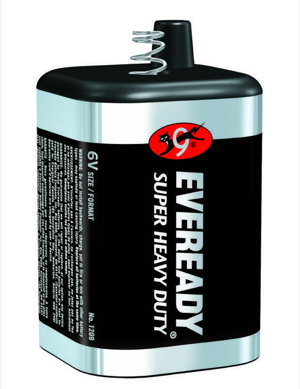 Photo of Eveready Super Heavy Duty Lantern Battery, spring terminal