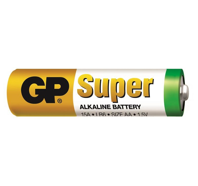Photo of GP Super AA Alkaline Battery, bulk