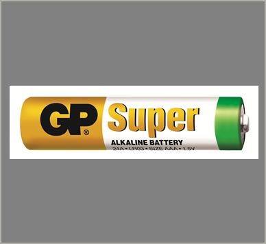 Photo of GP Super AAA Alkaline Battery, bulk