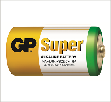 Photo of GP Super C Alkaline Battery, bulk
