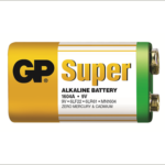 Photo of GP Super 9V Alkaline Battery, bulk