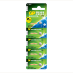 Photo of GP Ultra Plus 377 Silver Oxide Button Cell, 5pc