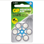 Photo of GP Size 675 Zinc Air Hearing Aid Battery, 6pk