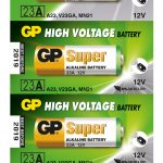 Photo of GP Super A23 Alkaline Battery, 5pc