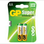 Photo of GP Super AA Alkaline Battery, 2pk