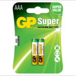 Photo of GP Super AAA Alkaline Battery, 2pk