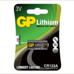 Photo of GP CR123 Lithium Battery, 1pk
