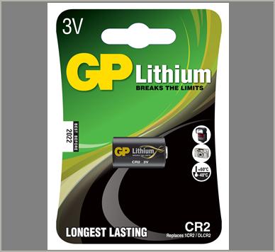 Photo of GP CR2 Lithium Battery, 1pk