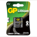 Photo of GP CR-P2 (223) Lithium Battery, 1pk