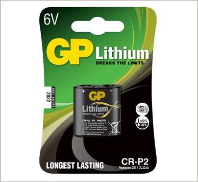 Photo of GP CR-P2 (223) Lithium Battery, 1pk