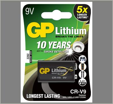 Photo of GP 9V Lithium Battery, 1pk