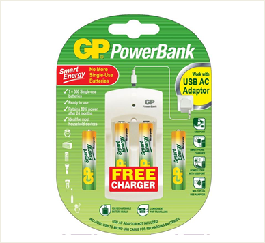 Photo of GP Smart Energy Rechargeable Bundle