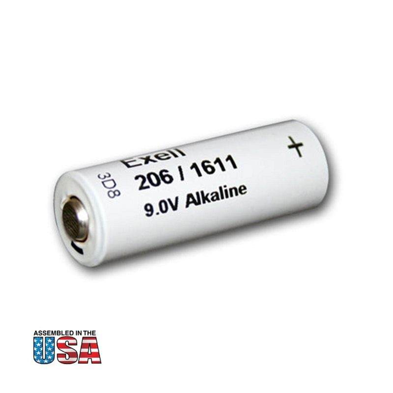 """Photo of Exell Battery """"206A"""" 9V Alkaline Battery"""