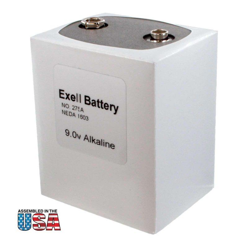 """Photo of Exell Battery """"276"""" 9V Alkaline Battery"""