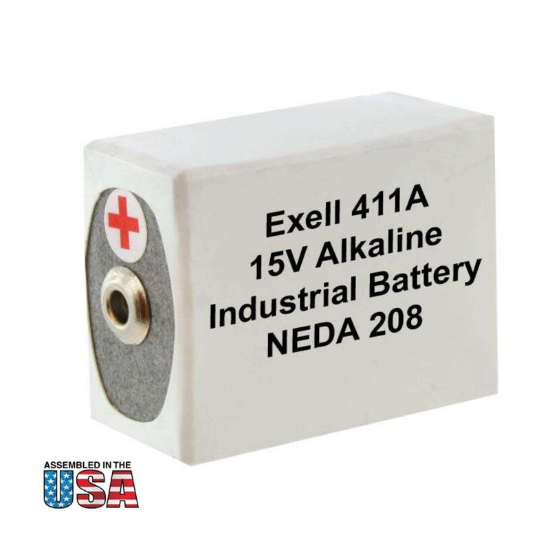 """Photo of Exell Battery """"411A"""" 15V Alkaline Battery"""