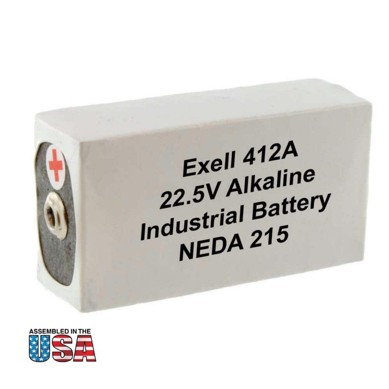 """Photo of Exell Battery """"412A"""" 22.5V Alkaline Battery"""