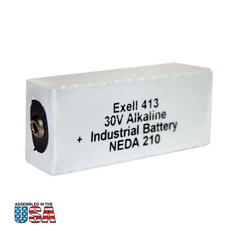 """Photo of Exell Battery """"413A"""" 30V Alkaline Battery"""