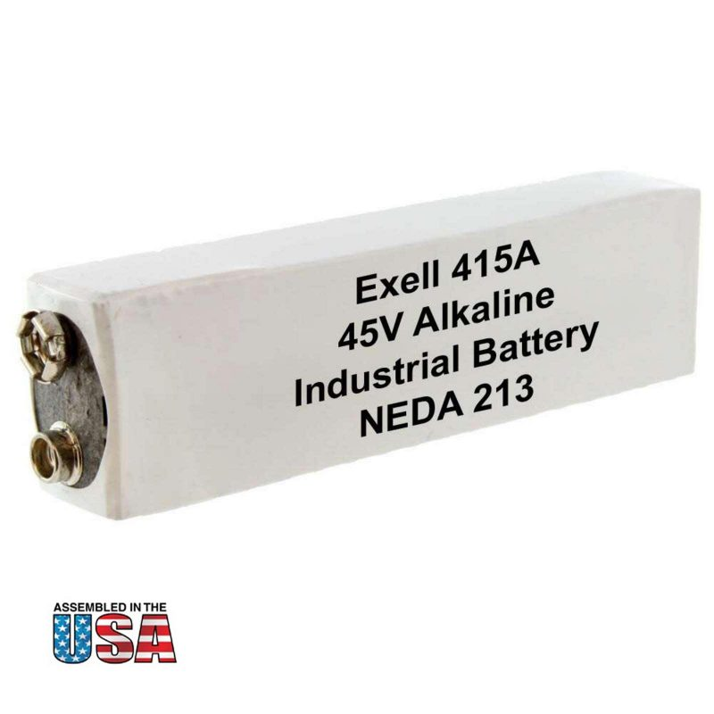 """Photo of Exell Battery """"415A"""" 45V Alkaline Battery"""